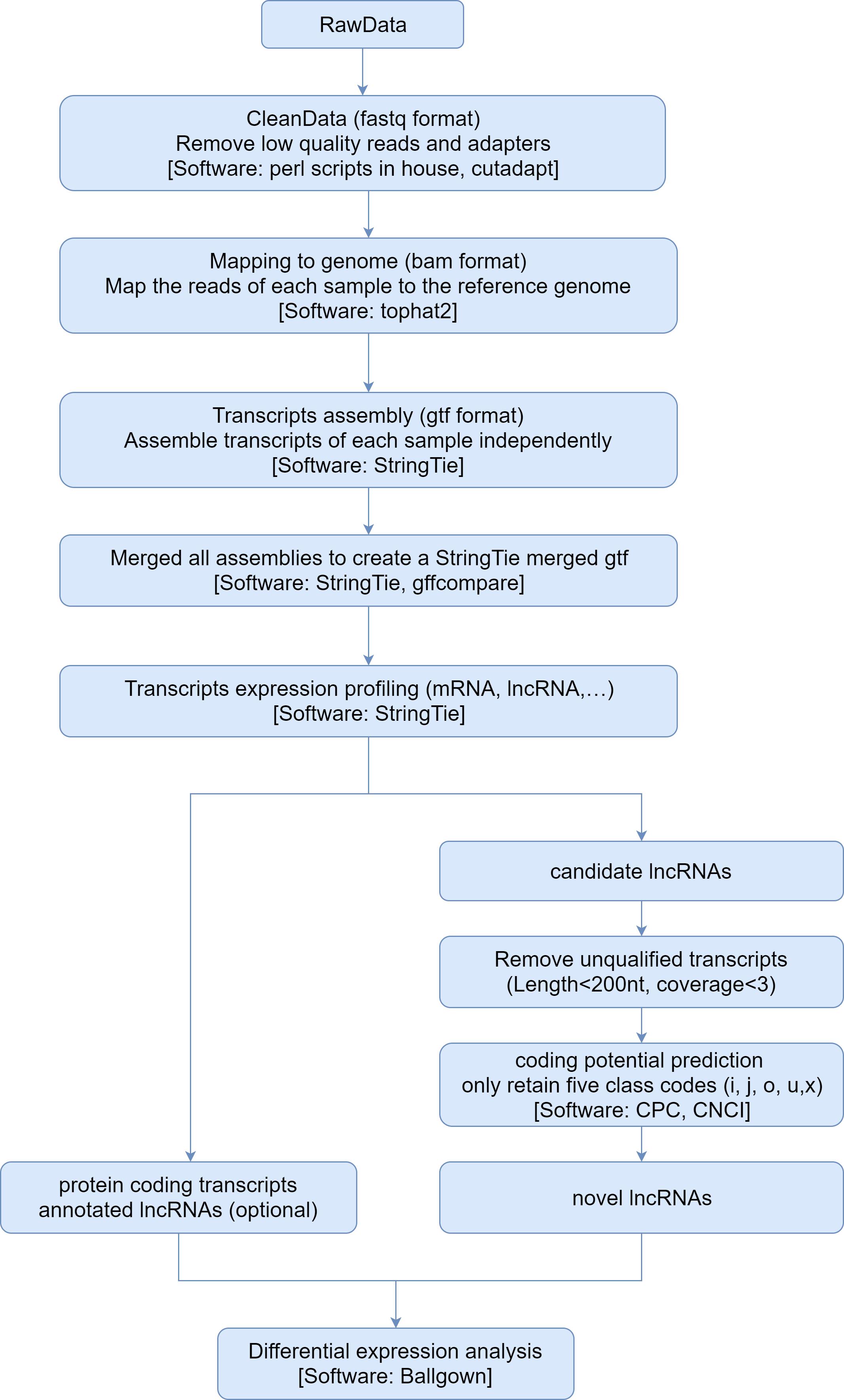 lncRNA sequencing (RiboZero) report